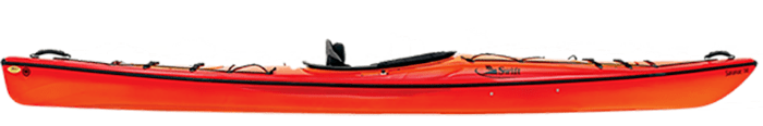 Example of a composite kayak