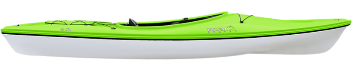 Example of a thermoform kayak
