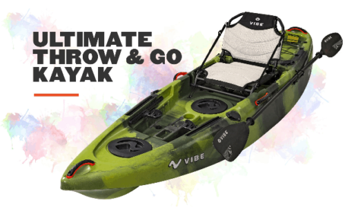 Vibe Yellowfin 100 Sit-on-top kayak