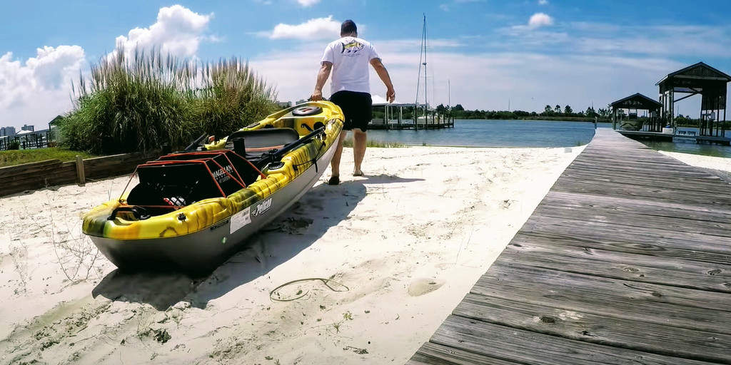 Pelican Catch 100 Review [2021] − A Super Stable Fishing Kayak To Stand & Catch