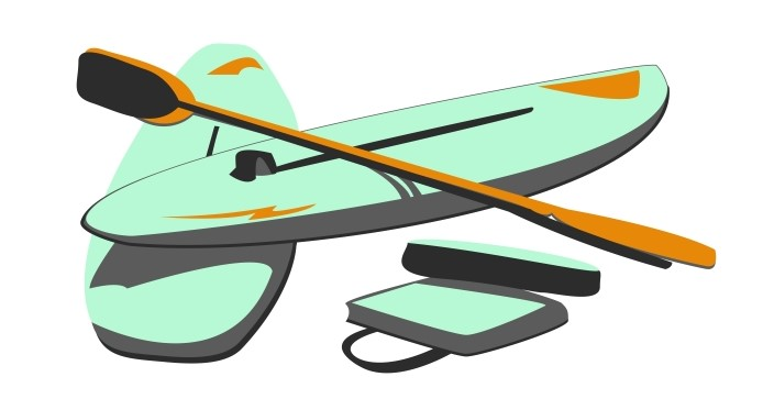 Image of A Stand Up Paddle Board