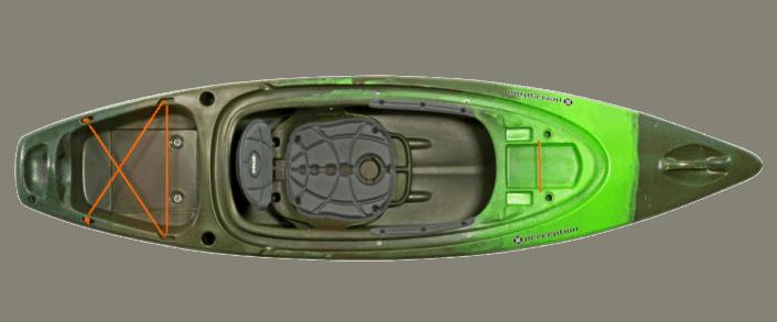 Pic of Perception 9.5 model kayak