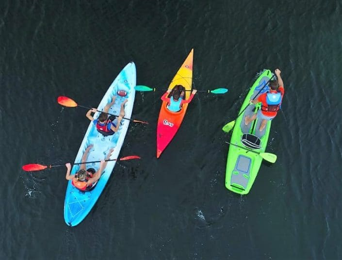 different perception kayaks