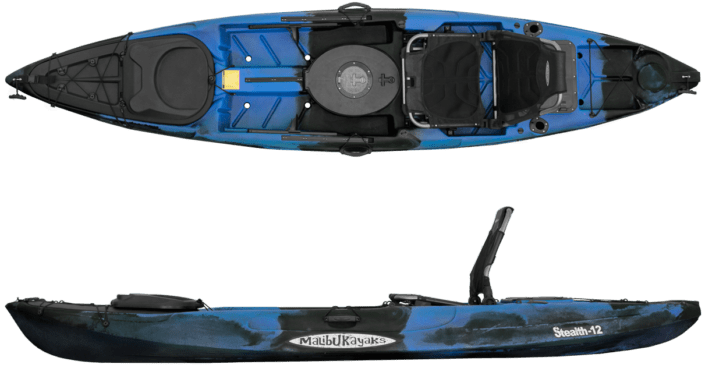 Picture of Malibu Stealth 12 Fish and Dive kayak