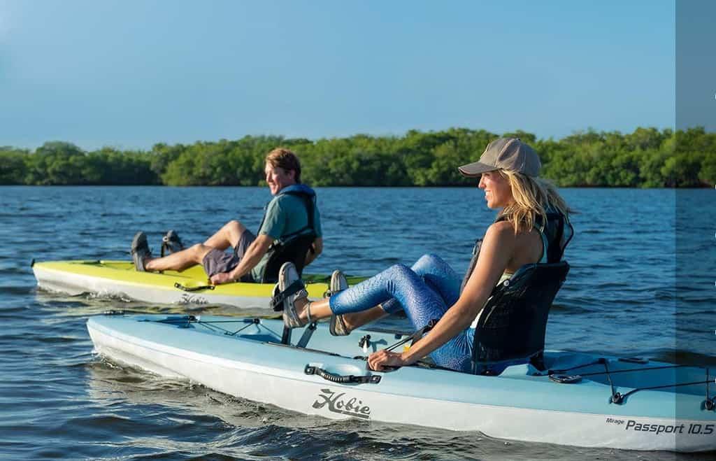 Hobie Mirage Passport 10.5 Review [2021] − Good, Cheap Fishing Pedal Kayak