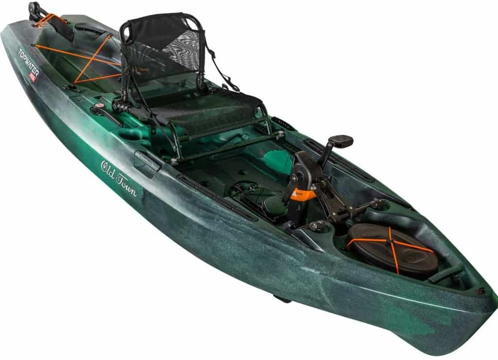 Old Town Topwater PDL Review [2021] – Can It Match Hobie's?
