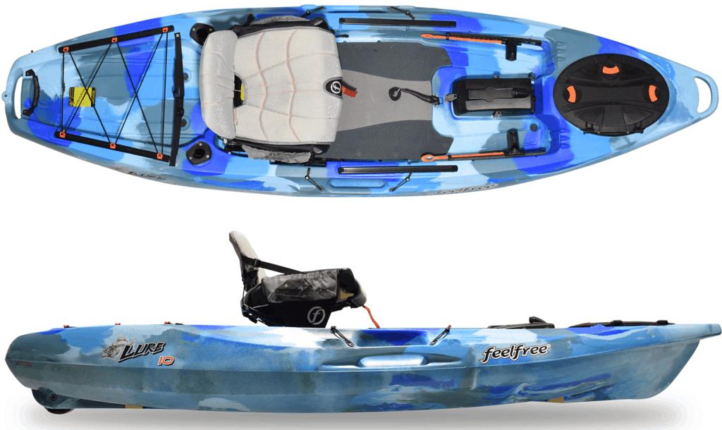 Feelfree Lure 10 Review [2021] − A Good Maneuverable Fishing Kayak