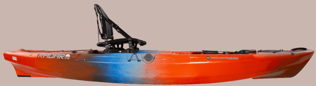 Close Pic of Wilderness System Radar 115 kayak