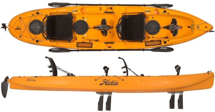 Pic of Hobie Mirage Outfitter Kayak