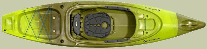 Pic of Perception Sound 10.5 kayak