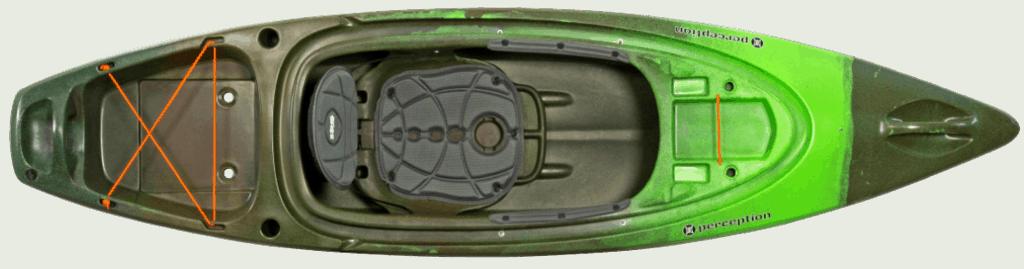 Pic of Perception Sound 9.5 kayak model